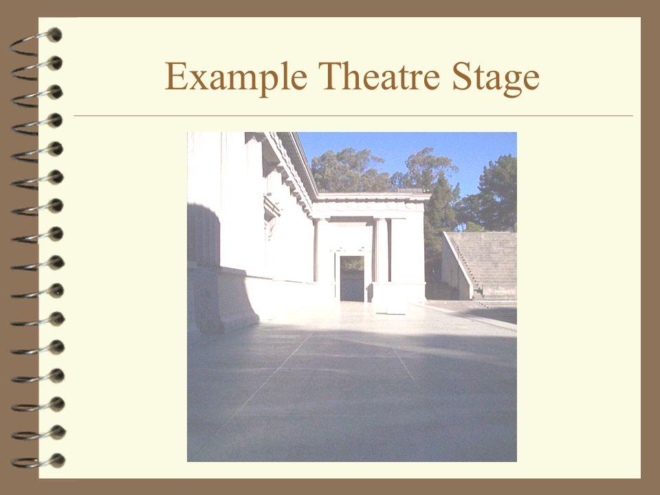 Example Theatre Stage