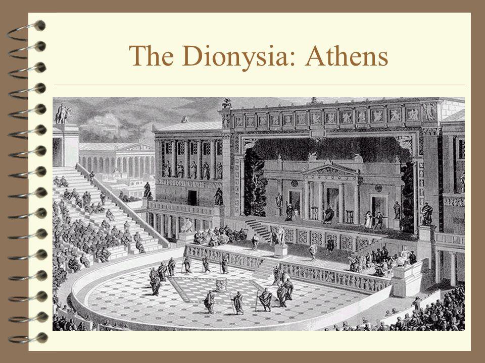 The Dionysia: Athens