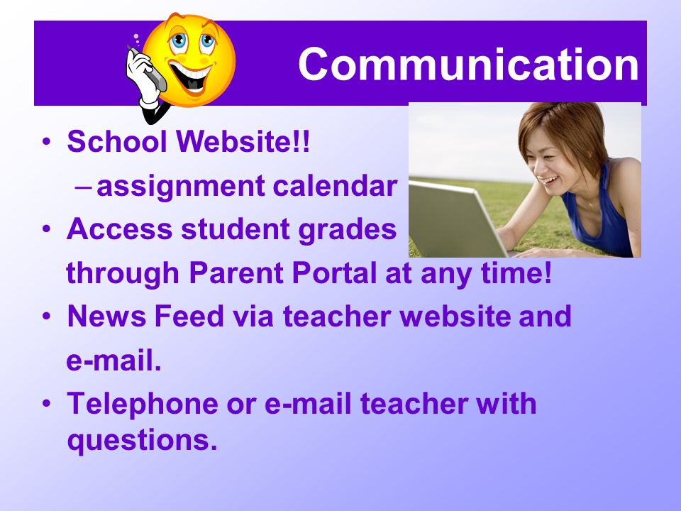 Communication School Website!.