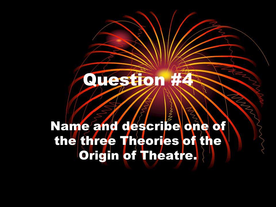 Question #3 Describe Agon.