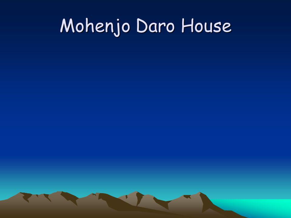 Mohenjo Daro House