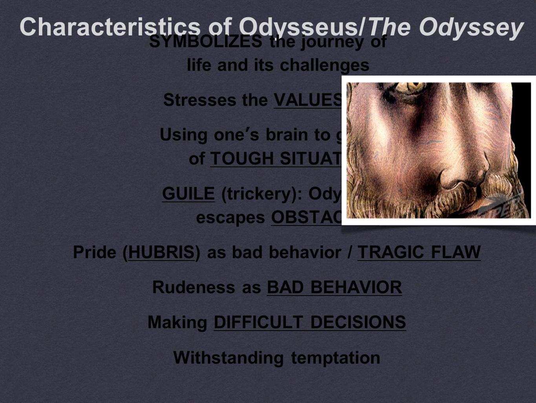 EPIC POEM:750 AND 650 B.C.E rhapsode (STORYTELLER): HOMER Odysseus C l a s s i c h e r o o f H o m e r s O d y s s e y