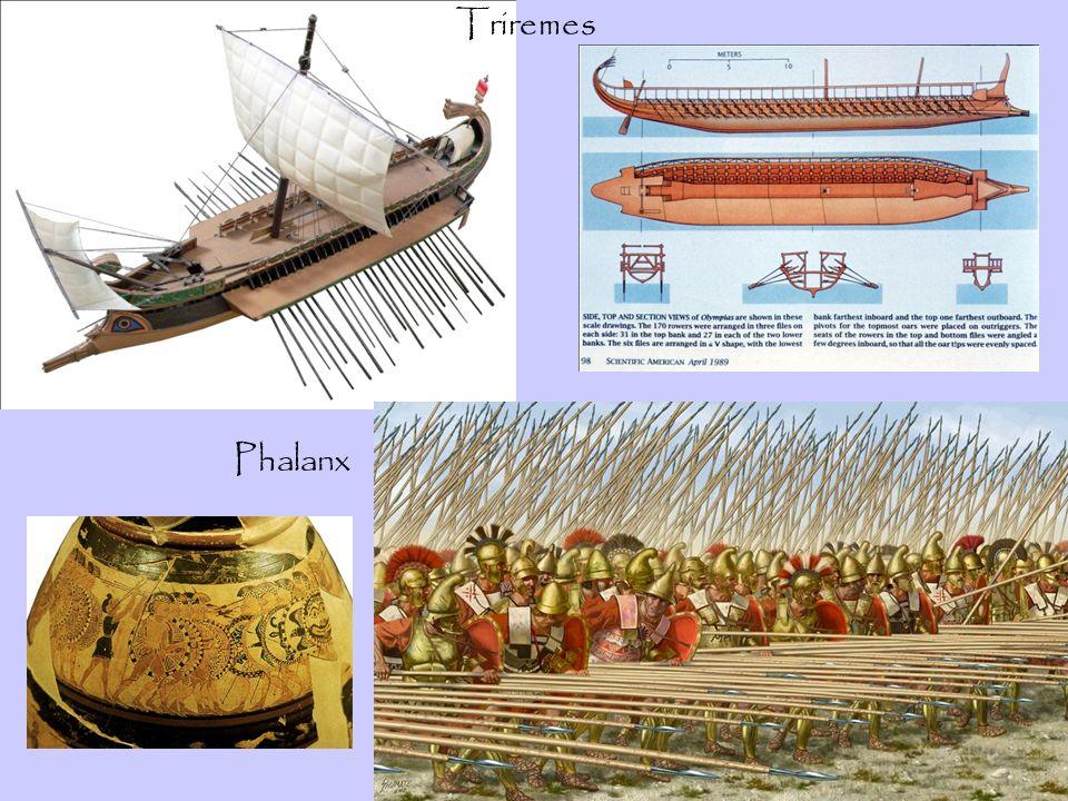 Triremes Phalanx
