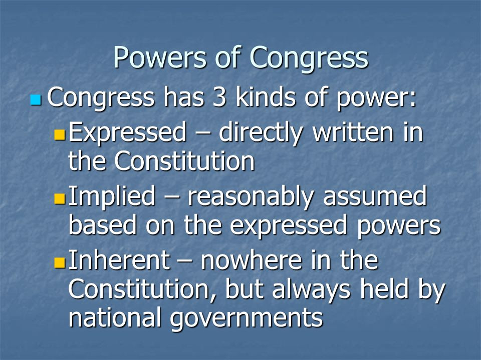 Where Does Congress Power Come From? Congress gets all of its power from Article I of the U.S. Constitution Congress gets all of its power from Articl