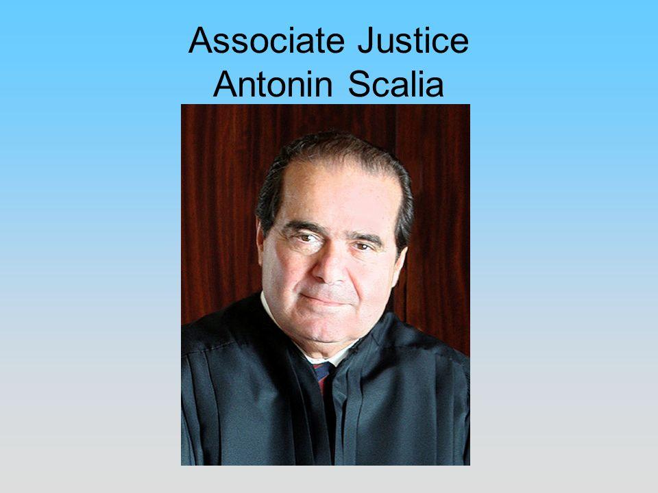 Associate Justice Antonin Scalia
