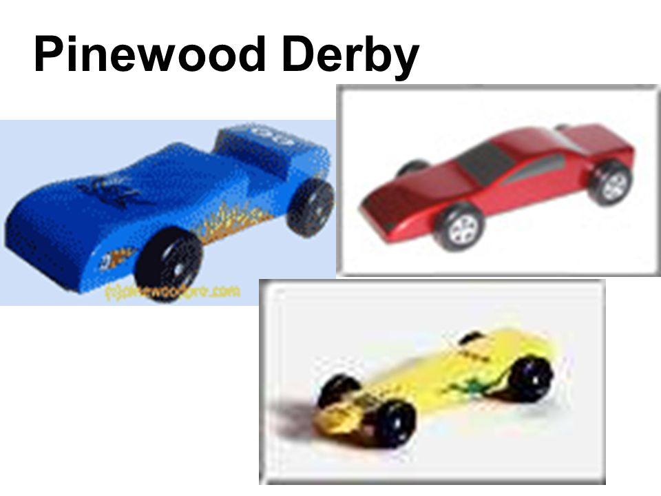 Does the mass of a derby car affect its speed? Scientific Question (problem):