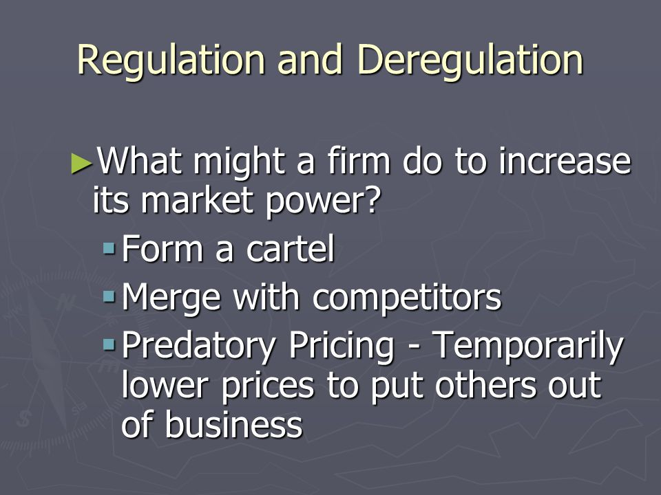 Characteristics of Oligopoly 1. Many Barriers to Entry 1. Many Barriers to Entry 2. Cooperation and Collusion 2. Cooperation and Collusion Cartels – a