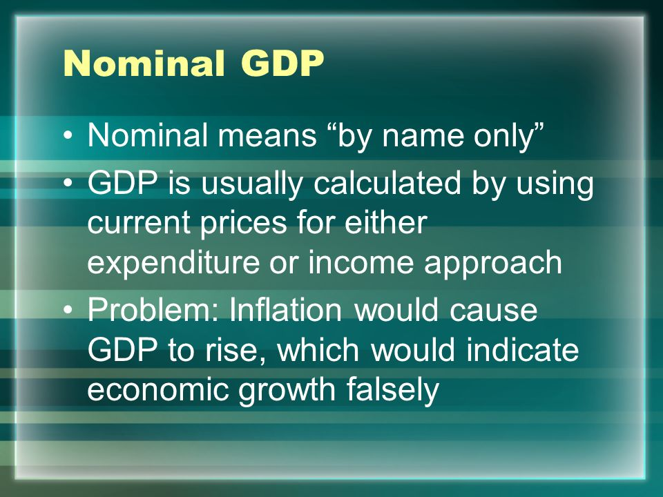 GNP GNP measures output of Americans, rather than output within the United States GDP + $ from U.S.