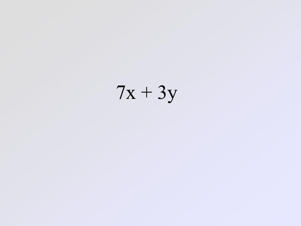 7x + 3y