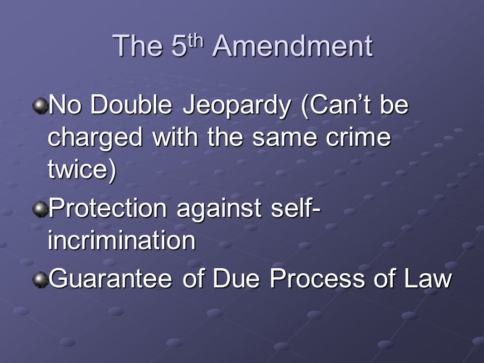 The 4 th Amendment Protection Against Unreasonable Search and Seizure