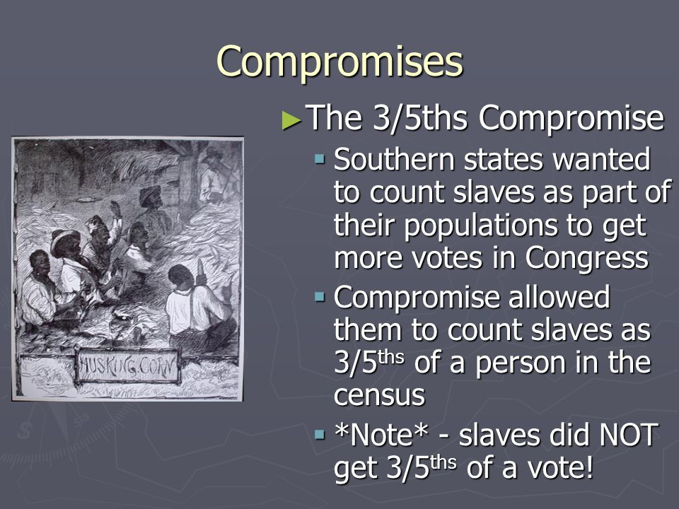How the Great Compromise Works StatePopulation # in House # in Senate California 35 million 532 Arizona 5 million 82 Wyoming 0.5 million 12