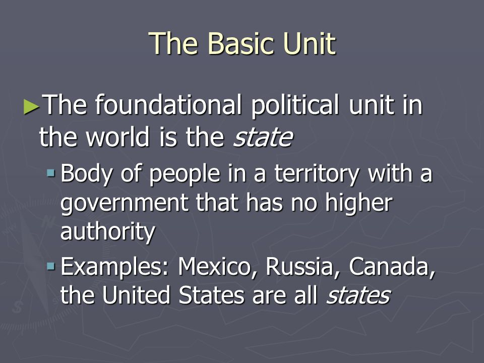 Unit 1 Basic Political Theory and Historical Roots