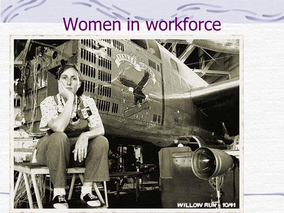 Women in workforce