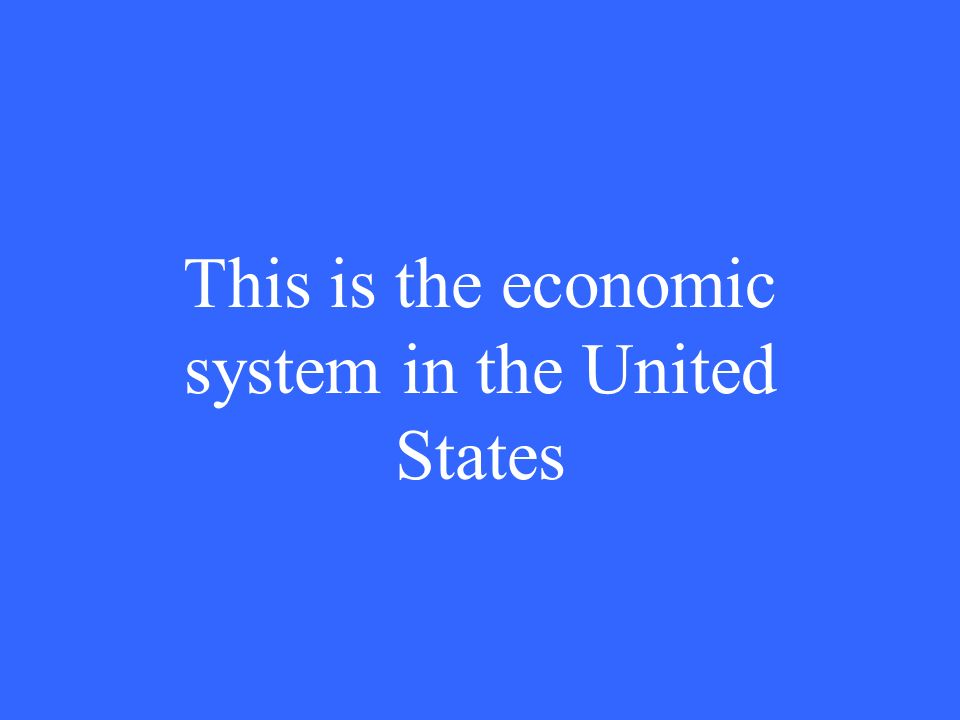 What is the system (or democracy)