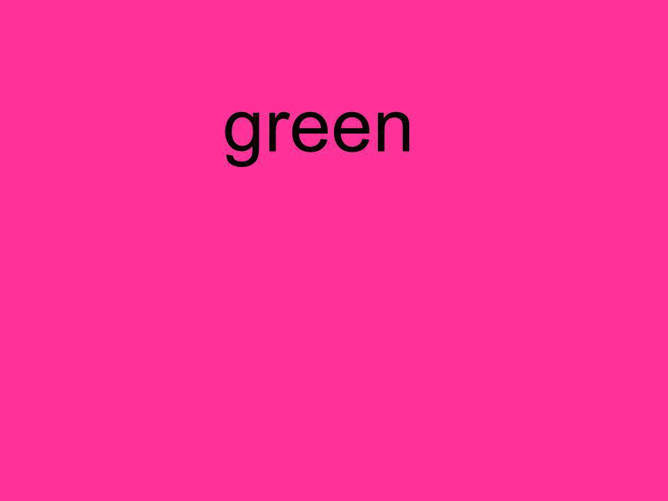 Spelling Test 1.call 2. dont 3. green 4. right 5.