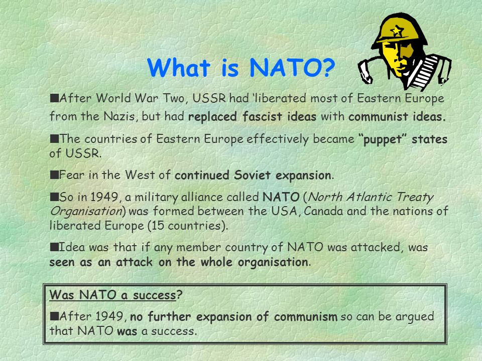 What is NATO.
