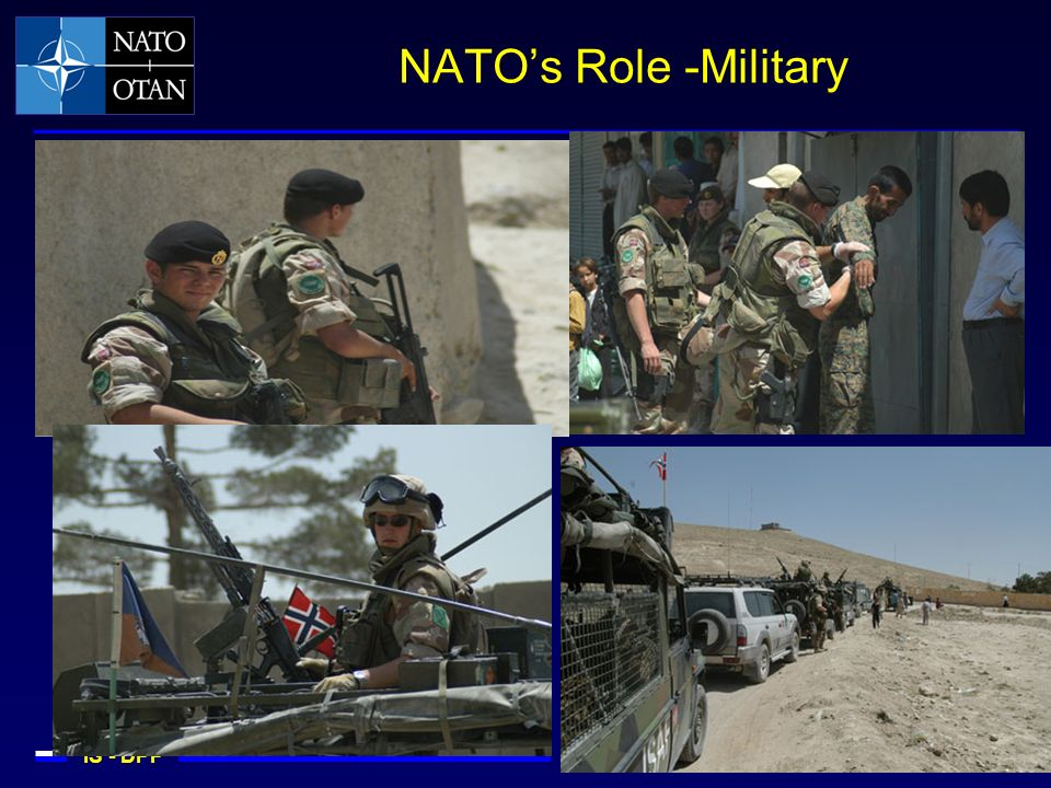 IS - DPP Defence Policy and Planning for the Alliance NATOs Role -Military