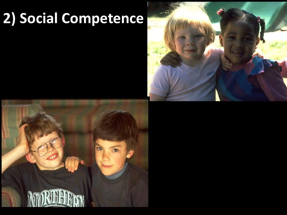 turity 2) Social Competence