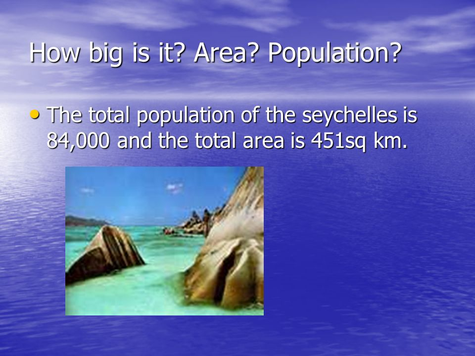 The capital The capital of seychelles is victoria that is in mahe island and it is the smallist capital city.