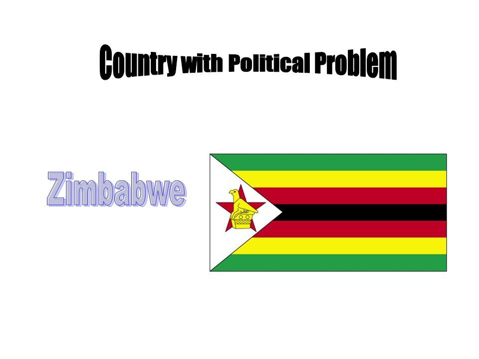 ZIMBABWE Zimbabwe is in the midst of a power struggle.