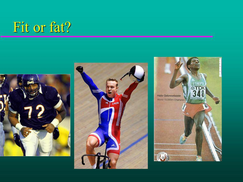 Fit or fat?