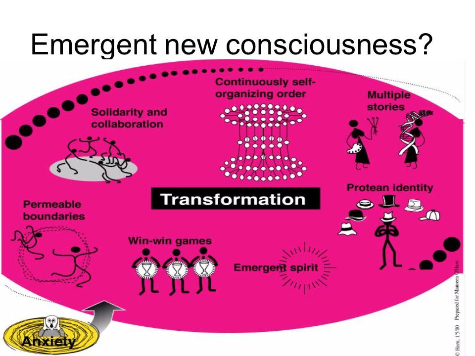 Emergent new consciousness?
