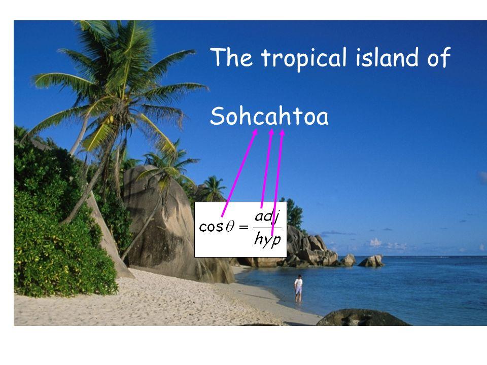 The tropical island of Sohcahtoa