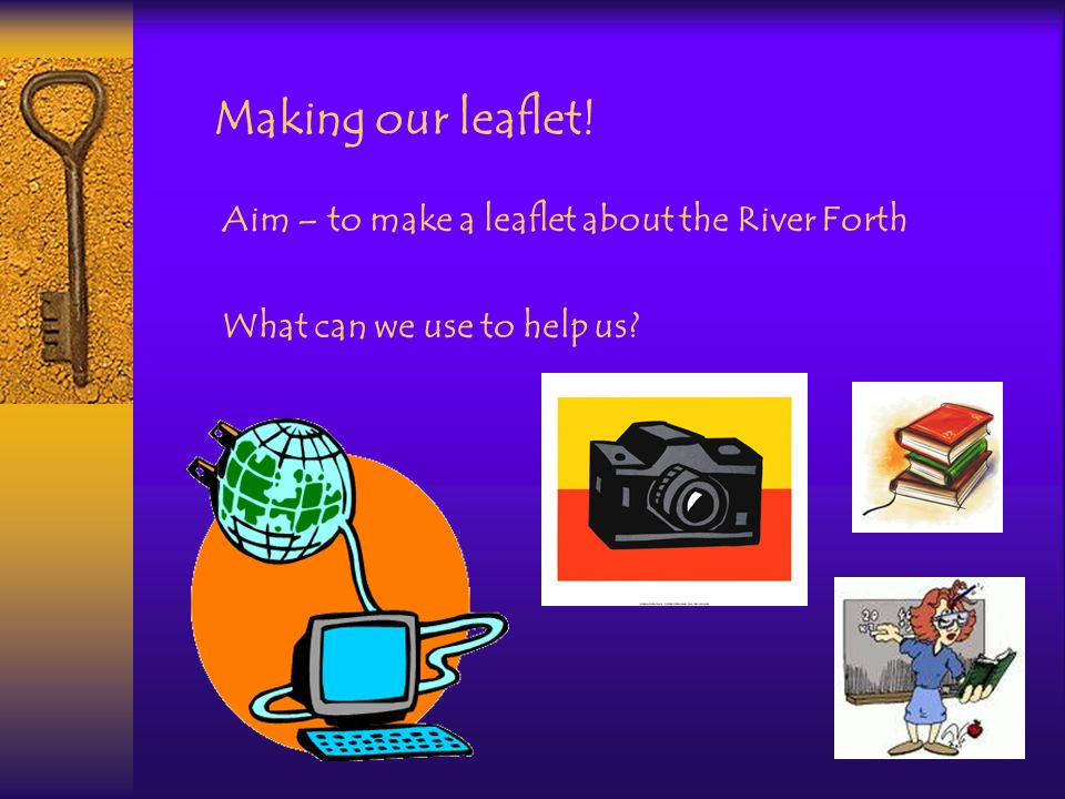 What could we put in our leaflet?