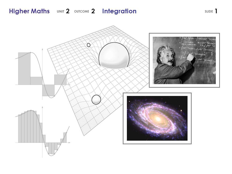 Higher Maths 2 2 Integration1