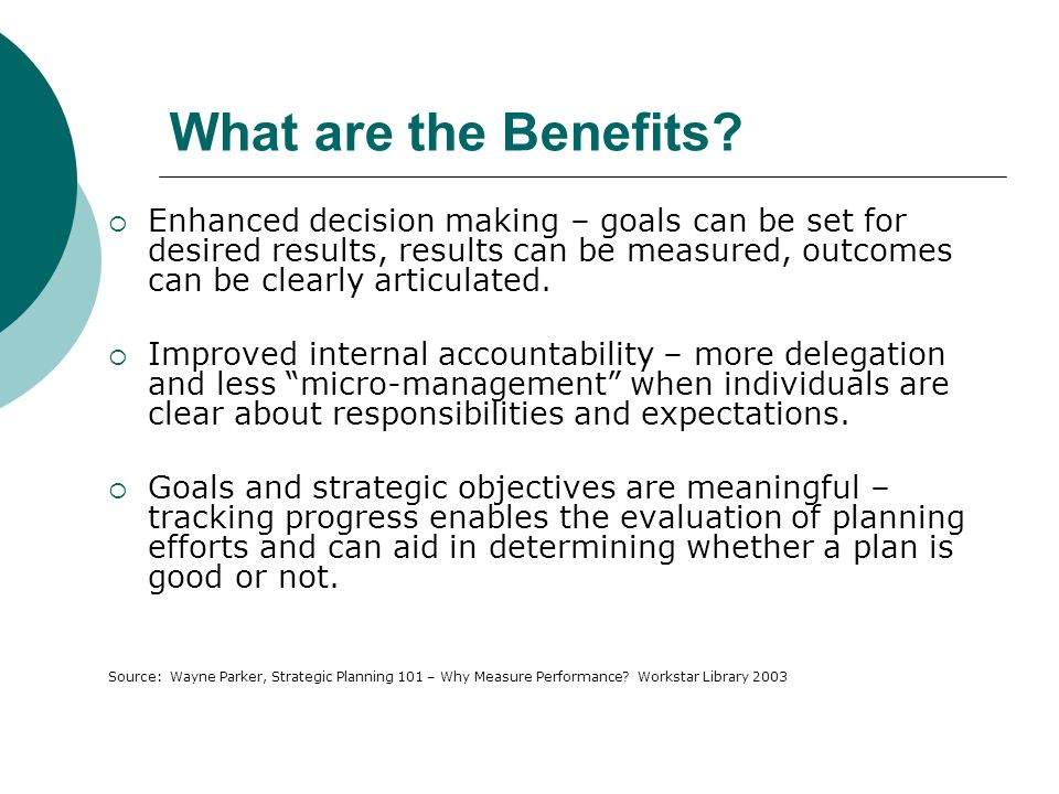 What are the Benefits.