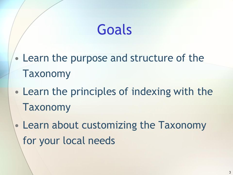 14 Structure of the Taxonomy – a great example B Basic Needs BD Food BD-1800 Emergency Food BD-1800.2000 Food Banks BD-1800.2000-620 Ongoing Emergency Food Assistance