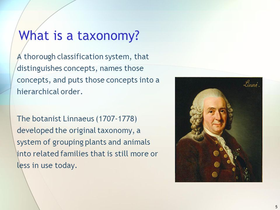 36 Customizing the Taxonomy Determine the sections that are relevant to the types of resources listed within your I&R.