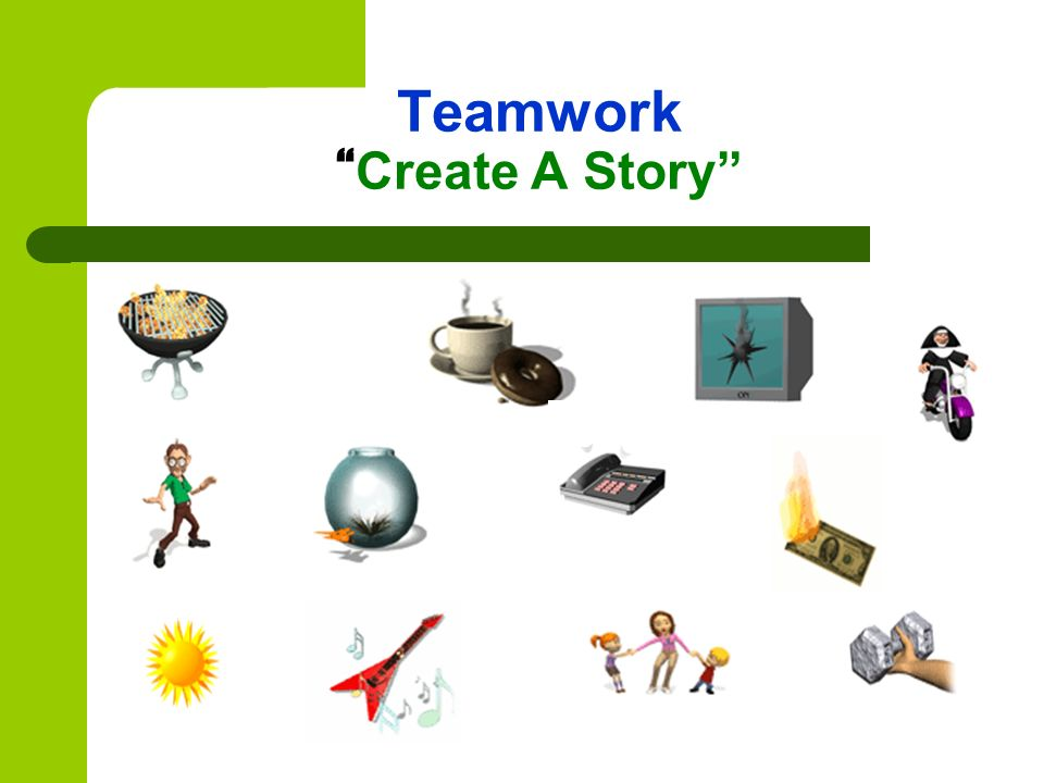 Teamwork Create A Story