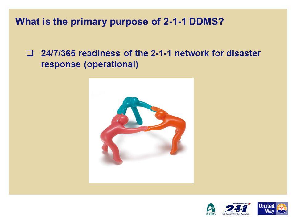 Development of standardized caller & resource data elements (support) 2-1-1 Disaster Data Management System