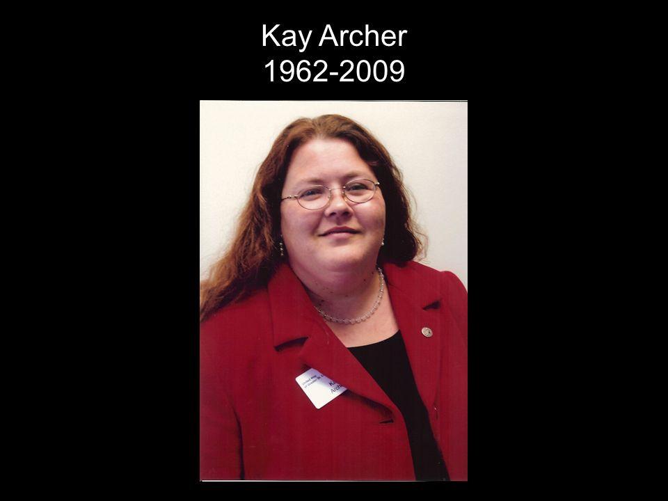 Kay Archer 1962-2009