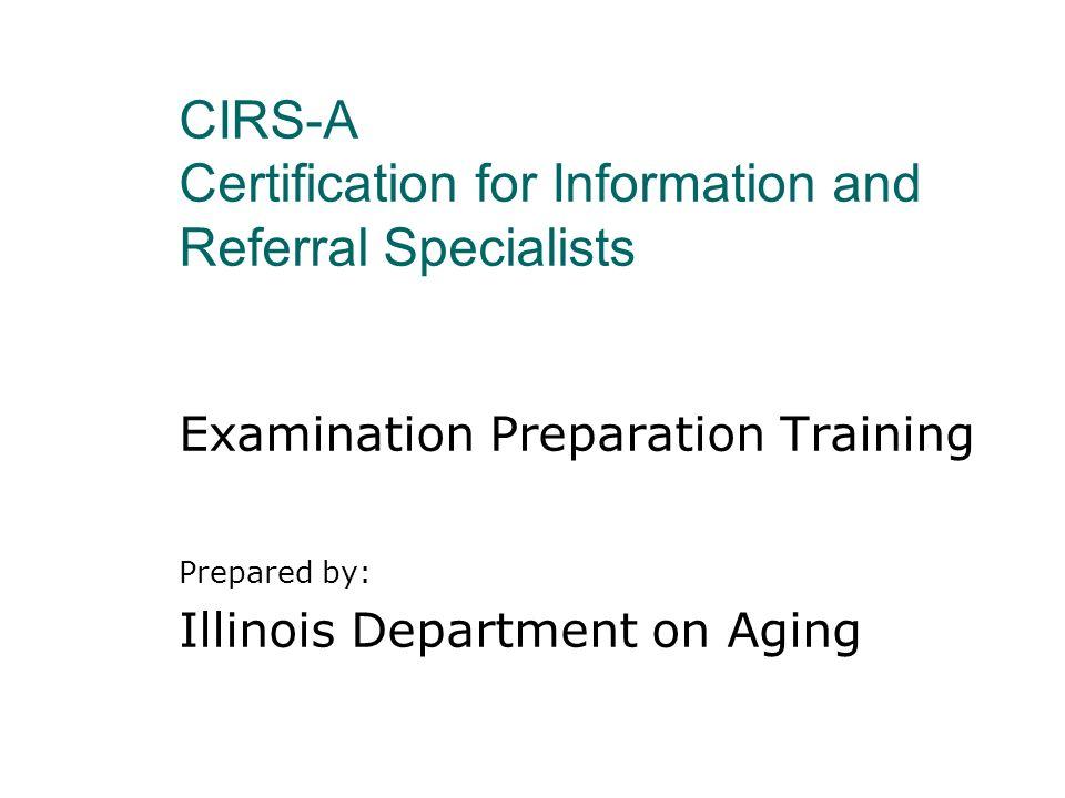 Certification is...