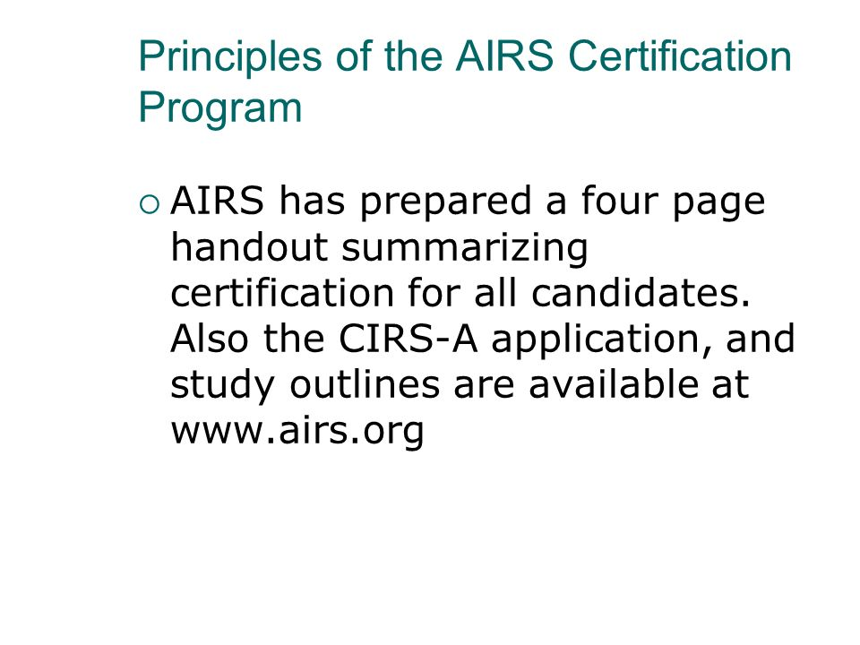 Online Resource Guide for Developing Aging Competence for I&R/A Specialists (17 Chapters) (page 1 of 2) 1.