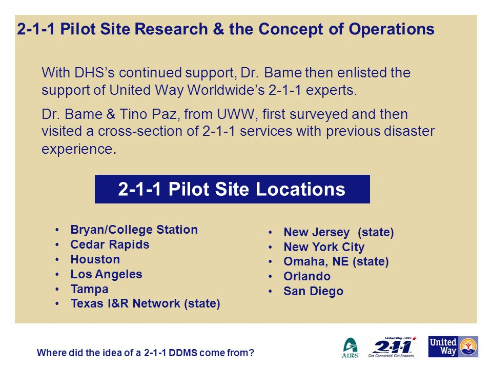 With DHSs continued support, Dr.