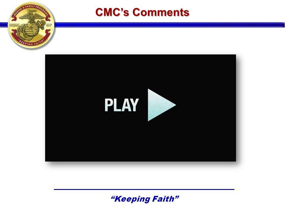 CMCs Comments