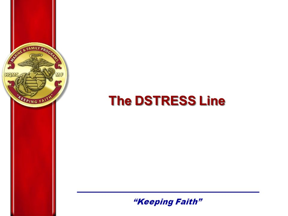 The DSTRESS Line
