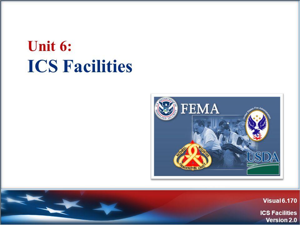 Visual 6.170 ICS Facilities Version 2.0 Unit 6: ICS Facilities