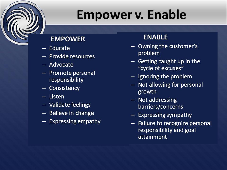 Empower v.
