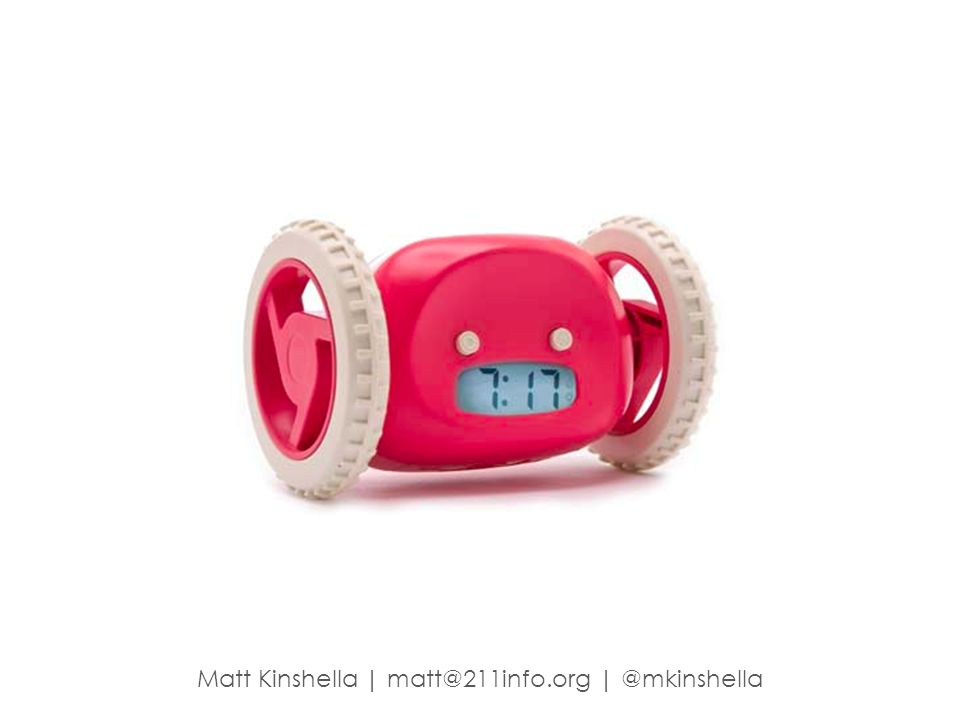 Matt Kinshella   matt@211info.org   @mkinshella