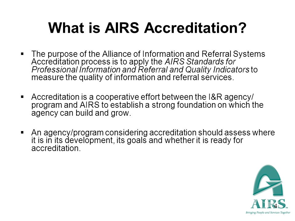 5 Why is Accreditation Important to You.Broader recognition by your peers in the field.