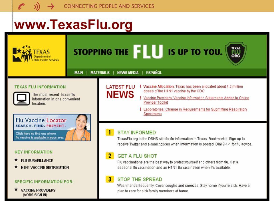 12 www.TexasFlu.org