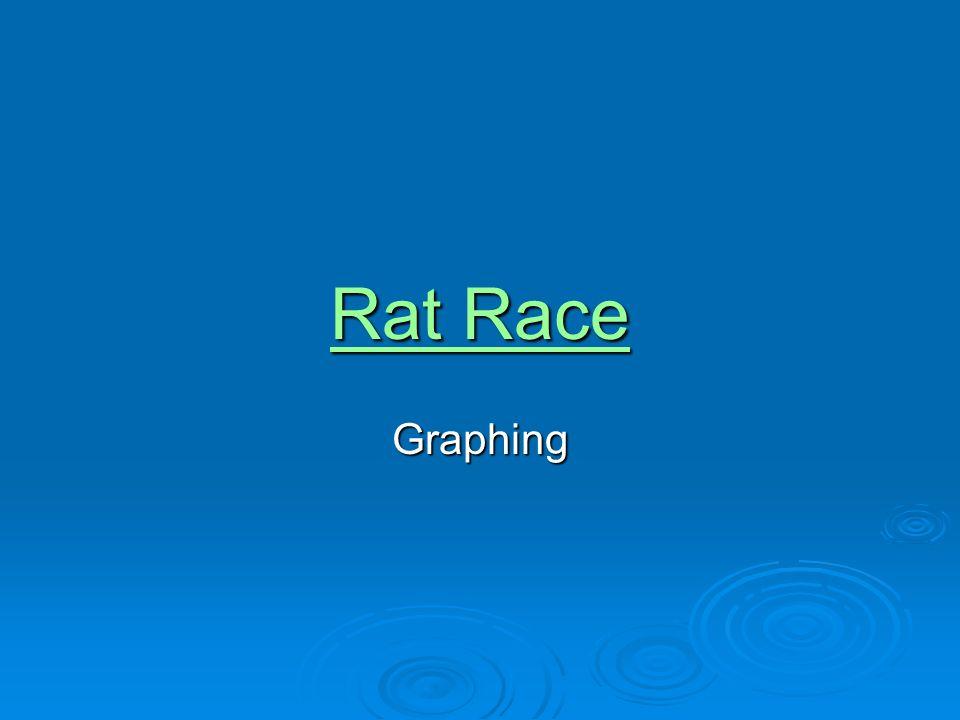 Rat Race Rat RaceGraphing