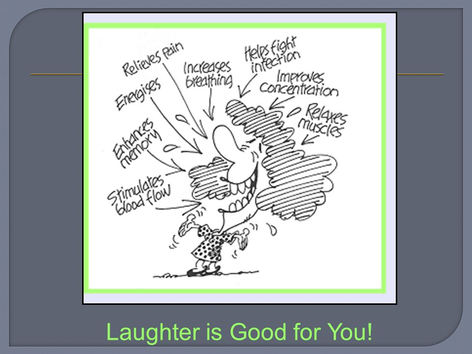 Laughter is Good for You!
