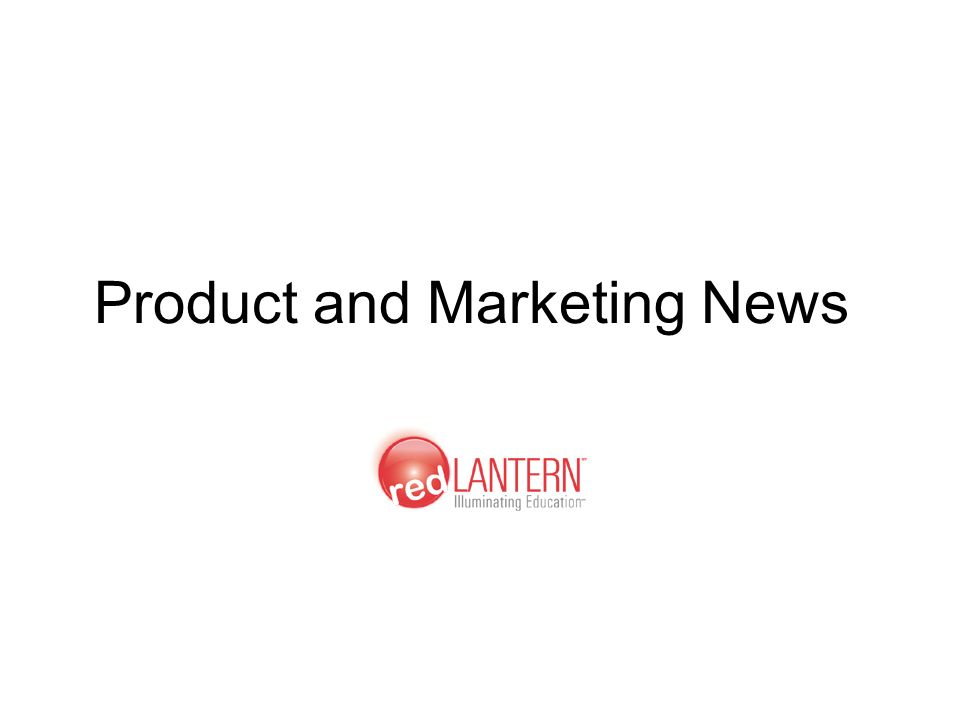 Product and Marketing News