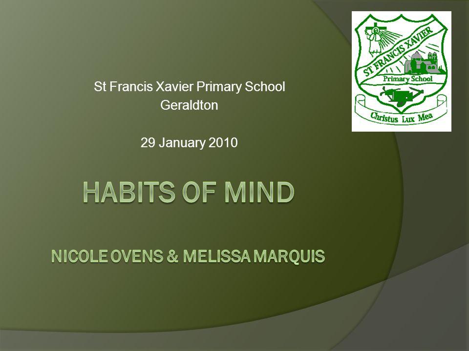 St Francis Xavier Primary School Geraldton 29 January 2010