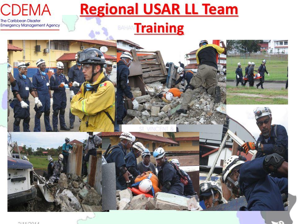 2/11/2014 OAS Main Building, Washington D.C. Regional USAR LL Team Training 2/11/201413